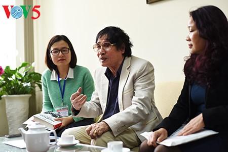 """El periodista Tran Mai Hanh y el éxito de su libro """"Acta de Guerra 1-2-3-4.75"""" - ảnh 10"""