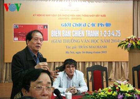 """El periodista Tran Mai Hanh y el éxito de su libro """"Acta de Guerra 1-2-3-4.75"""" - ảnh 2"""