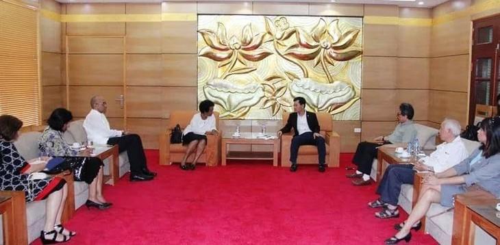Promueven la solidaridad y amistad entre Vietnam y Cuba - ảnh 1