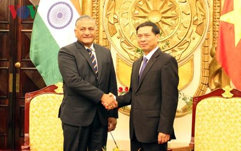 Visita Vietnam secretario de Estado de Relaciones Exteriores de la India - ảnh 1
