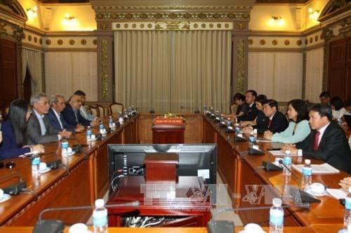Ciudad Ho Chi Minh impulsa cooperación comercial e inversionista con Irán - ảnh 1
