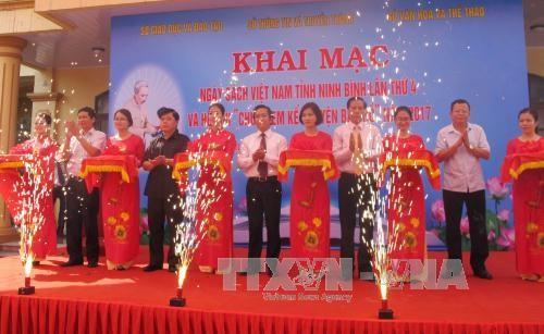 Vietnam celebra el Día Nacional del Libro - ảnh 1