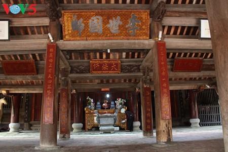 Pagoda Keo: singularidad arquitectónica de la provincia norteña de Thai Binh - ảnh 15