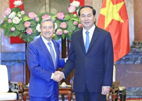 Presidente vietnamita se reúne con ministros de Comercio de Canadá e Indonesia - ảnh 1