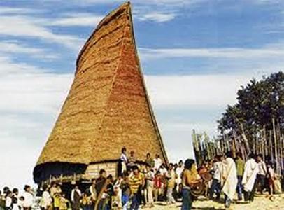 La etnia Xo Dang y sus originales casas comunales  - ảnh 1