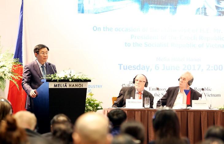 Vietnam y República Checa tienen grandes potencialidades para dinamizar su cooperación - ảnh 1