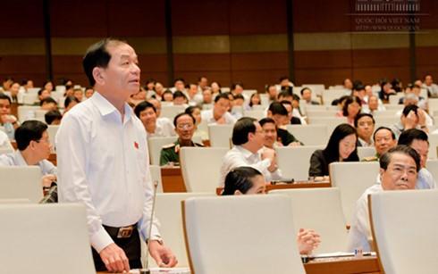 Interpelarán a ministros en próximas sesiones parlamentarias de Vietnam - ảnh 1