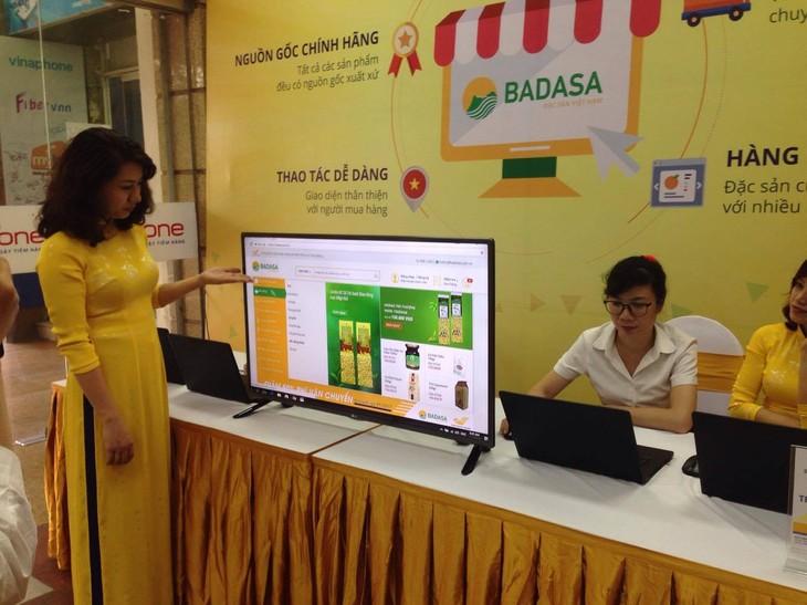 Estrenan mercado electrónico de especialidades vietnamitas - ảnh 1