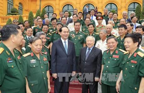 Presidente vietnamita insta a fomentar las relaciones con Camboya - ảnh 1