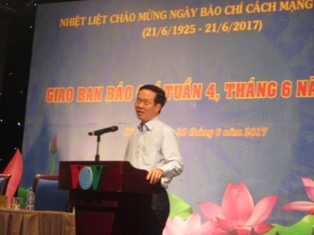 Rinden tributo a la prensa vietnamita por su contribución a la causa revolucionaria  - ảnh 1