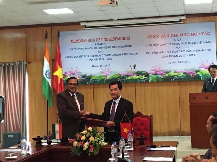 Vietnam y la India estrechan la cooperación cultural y el intercambio entre sus pueblos - ảnh 1