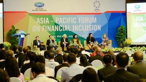 Celebran en Hoi An la VII Conferencia del foro APEC sobre la inclusión financiera - ảnh 1