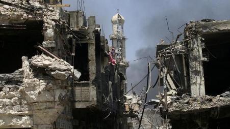 Conflictos en curso en Mosul después de la victoria del Ejército del Gobierno iraquí - ảnh 1