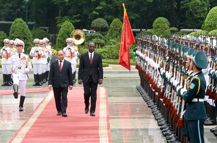 Vietnam refuerzan la cooperación multisectorial con Mozambique - ảnh 1