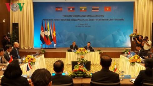 Instan a una mayor cooperación laboral entre Camboya, Laos, Myanmar, Tailandia y Vietnam  - ảnh 1