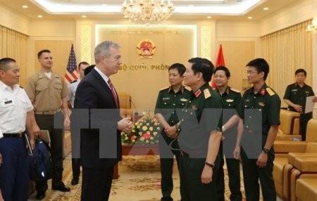 Vietnam y Estados Unidos refuerzan la cooperación militar - ảnh 1