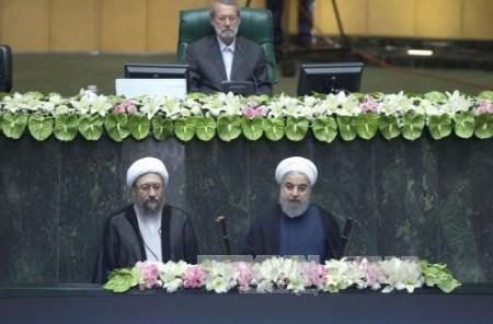 Jefe de la oficina presidencial de Vietnam asiste a la investidura de Hassan Rouhani - ảnh 1