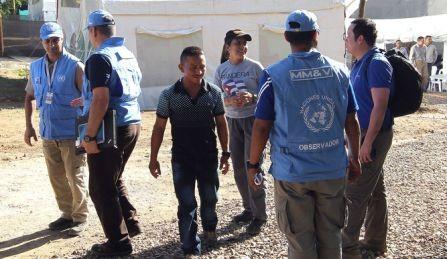 Ataque terrorista contra la misión de la ONU en Colombia - ảnh 1