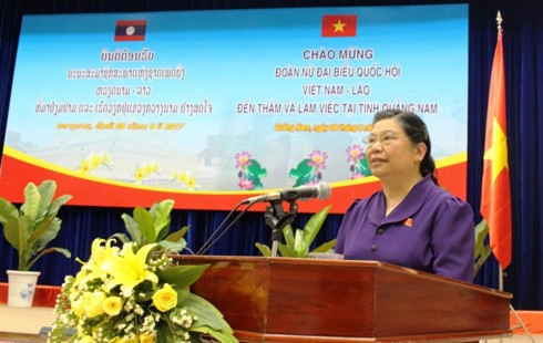 Ponderan los aportes de la provincia de Quang Nam al fortalecimiento de las relaciones Vietnam-Laos - ảnh 1