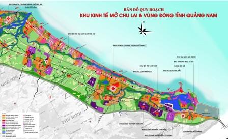 La provincia central de Quang Nam promueve las potencialidades de sus zonas económicas - ảnh 1