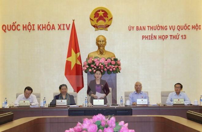 Inician décimo tercera reunión del Comité Permanente de la Asamblea Nacional de Vietnam - ảnh 1