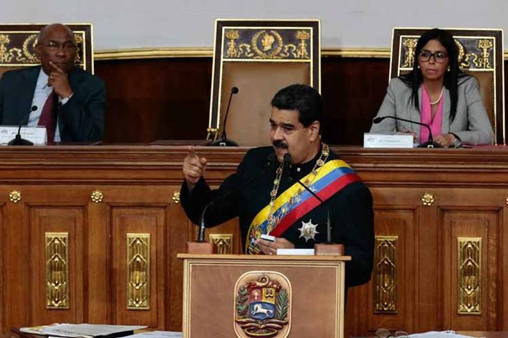 Asamblea Constituyente de Venezuela reconoce el desempeño de Nicolás Maduro como presidente  - ảnh 1