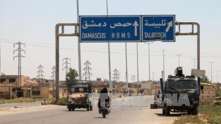 El ejército sirio asegura la ciudad islámica en la provincia de Homs - ảnh 1