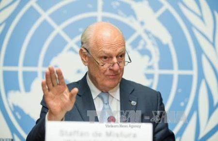 ONU espera conversaciones de paz en Siria en octubre o noviembre - ảnh 1