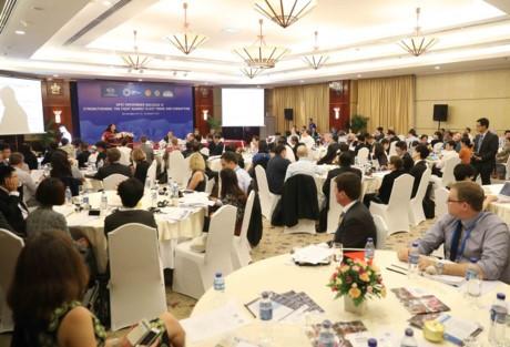 SOM3 del APEC continúa con debates sobre la tramitación aduana y la lucha contra el contrabando - ảnh 1