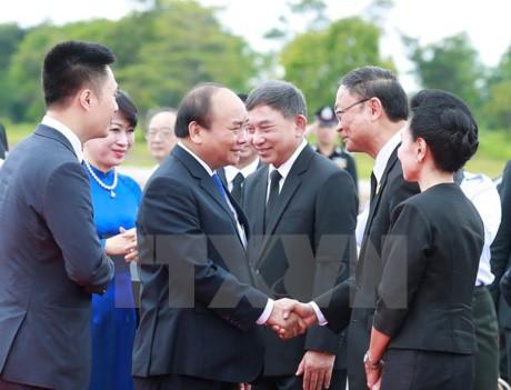 Primer ministro vietnamita finaliza visita oficial a Tailandia - ảnh 1
