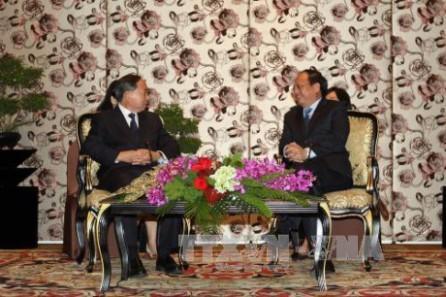 Dirigente de Ciudad Ho Chi Minh se reúne con alto funcionario de la organización de masas de China - ảnh 1