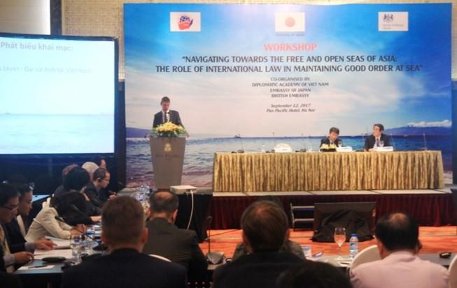 La Legislación Internacional ayuda a mantener la paz y la seguridad marítima en Asia - ảnh 1