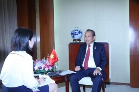 Vietnam dispuesto a promover la cooperación entre la Asean y China  - ảnh 1