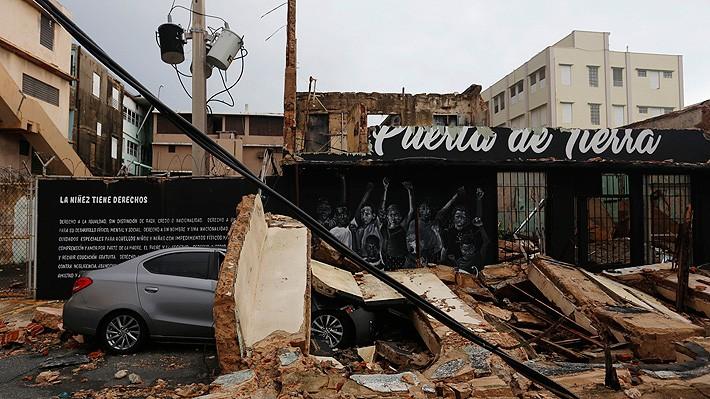 Trump declara a Puerto Rico zona de desastre por el devastador huracán María - ảnh 1