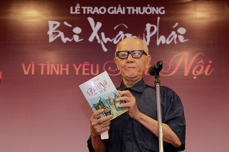 """La décima edición del premio """"Bui Xuan Phai-Por el amor a Hanói"""" - ảnh 1"""
