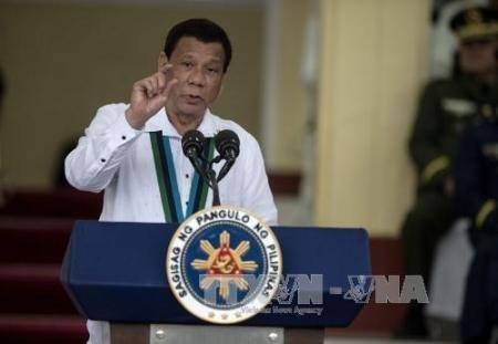 Presidente filipino llama a una cooperación más fuerte contra el Estado Islámico - ảnh 1