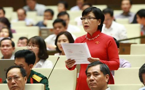 Los diputados vietnamitas insisten en continuar la lucha anticorrupción - ảnh 1
