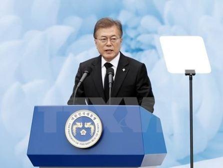 Presidente de Corea del Sur apoya la pronta firma del Tratado RCEP - ảnh 1