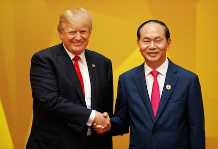 Washington publica un comunicado oficial sobre la visita del presidente Donald Trump a Vietnam - ảnh 1