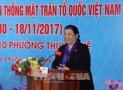 Localidades vietnamitas celebran la Fiesta de la Unidad Nacional - ảnh 1