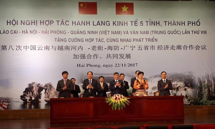 Vietnam y China estrechan sus lazos de colaboración en el corredor económico - ảnh 1