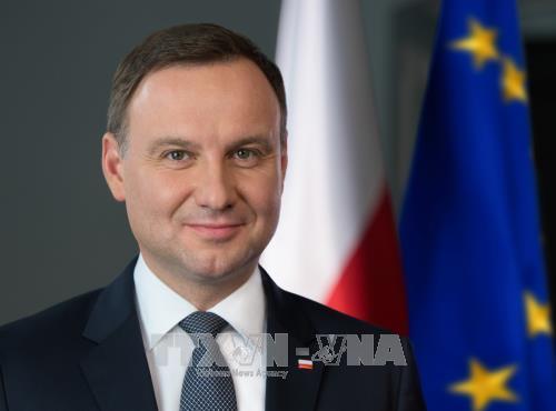 El presidente polaco inicia su visita oficial a Vietnam - ảnh 1