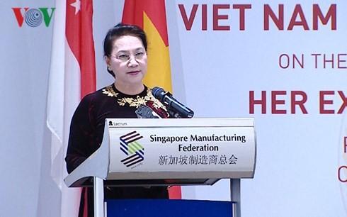 Diálogo Empresarial entre Vietnam y Singapur - ảnh 1