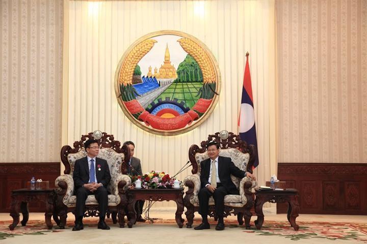 Vietnam y Laos se apoyan mutuamente en el sector jurídico - ảnh 1