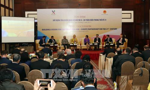 Asia y Europa afianzan su cooperación e integración - ảnh 1