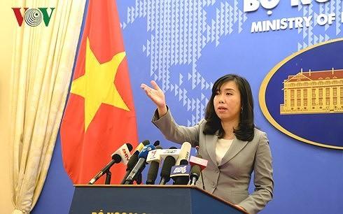 Vietnam preocupado por la colocación en su territorio soberano de cohetes chinos - ảnh 1