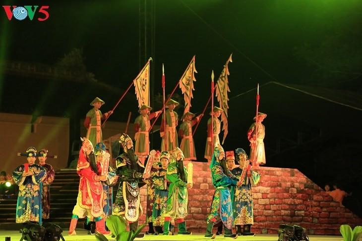 La cultura de Hue enaltecida en su noveno festival  - ảnh 2