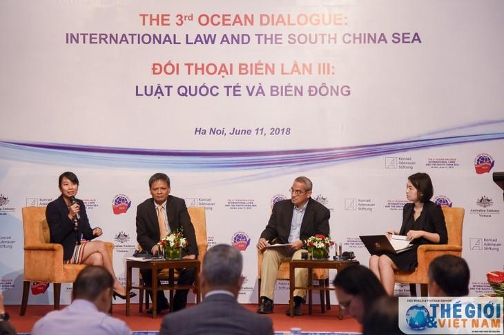 Tercer Diálogo sobre Mar en Vietnam enfocado en la situación en el Mar del Este - ảnh 1