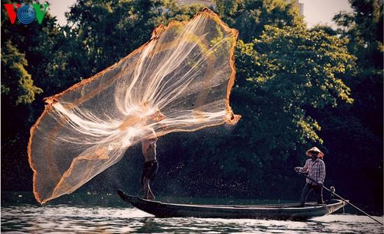Tari kehidupan di sungai Nhu Y - ảnh 5