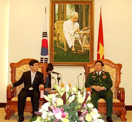 Dialog strategis yang pertama tentang pertahanan Vietnam-Republik Korea  - ảnh 1